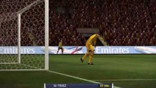 תקציר משחק: ליברפול נגד מנצ'סטר סיטי - PES 2010