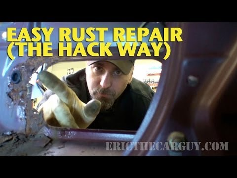 Easy Rust Repair The Hack Way Ericthecarguy Youtube