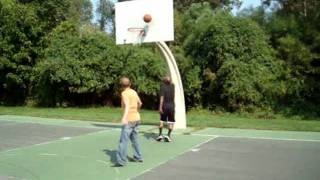 N8than Speed and Medcated Pete from the Howard Stern show play basketball