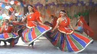 JNV Kaushambi Rajasthani dance