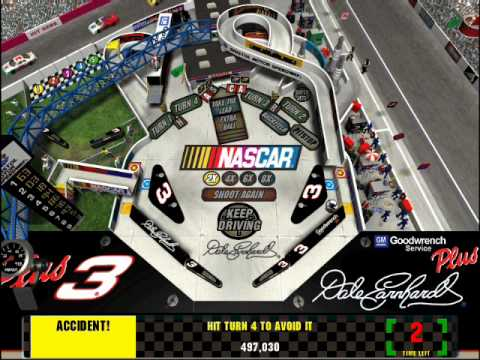 3D Ultra Pinball: NASCAR for the PC
