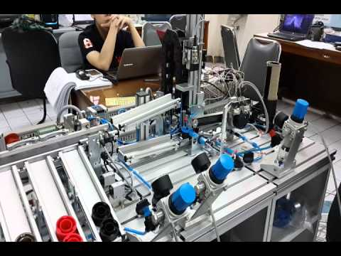 Industrial Robotic Design Ubaya - (Final Project - Industria