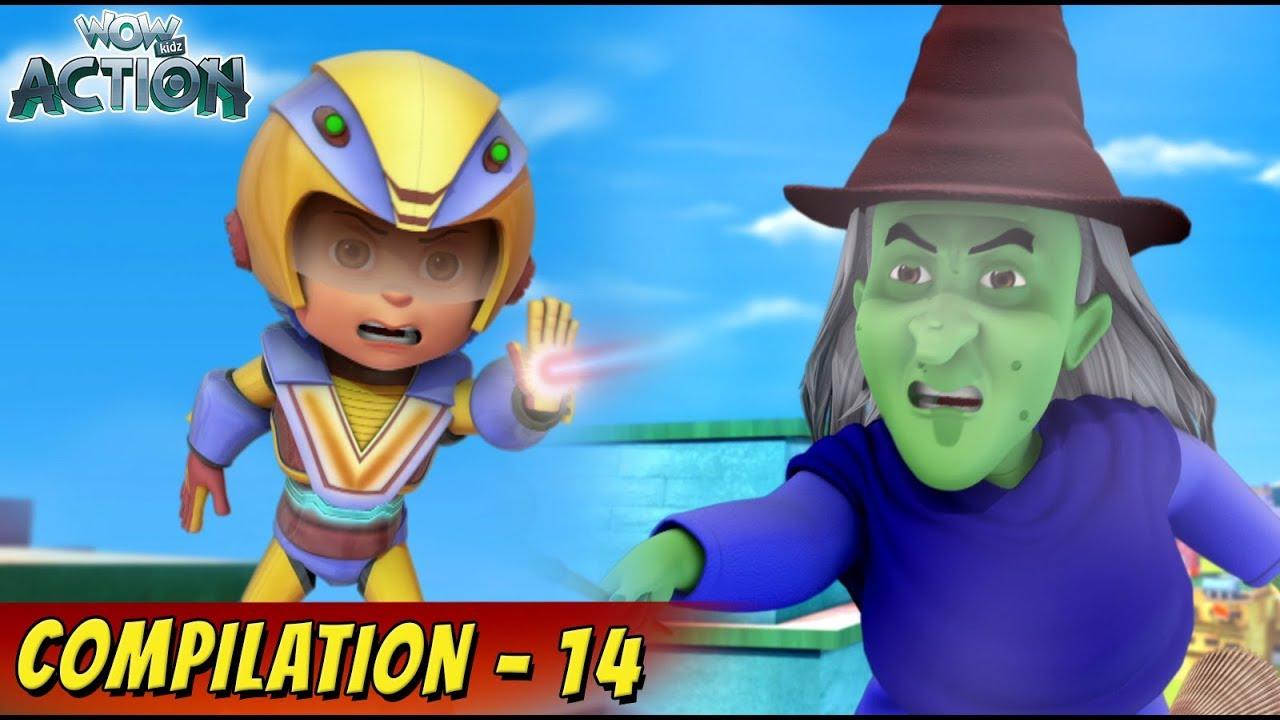Download VIR: The Robot Boy Cartoon In Hindi   Compilation 14   Hindi Cartoons for Kids   Wow Kidz Action