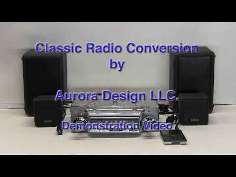 Aurora Design conversion radio demonstration