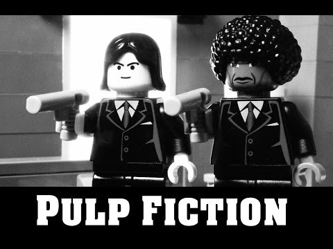 Lego Pulp Fiction | Say What Again, I Dare You, I Double Dare You Motherf*****