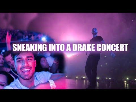 We Snuck Into A Drake Concert