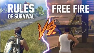 🔥RoS VS FreeFire🔥 Battle Royale Android / IOS   PolGames   Gameplay en español
