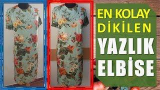 Video Kullanımı Rahat, Dikimi Kolay Pratik Yazlık Elbise | Dikiş Hocam download MP3, 3GP, MP4, WEBM, AVI, FLV September 2018