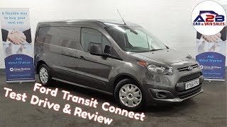 Magnetic Grey Ford Transit Connect ( 3 Seats) (Long Wheel Base)  Low Mileage Test Drive / Review