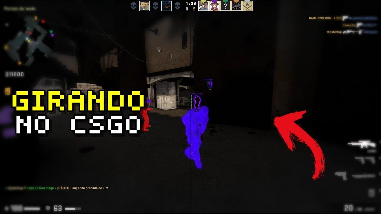 CS:GO | Girando no COMPETITIVO // Aimbot + WALL