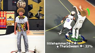 I pretended to be a RANDOM ROOKIE W/ THE BEST JUMPSHOT & DRIBBLE MOVES IN NBA 2k20!😨