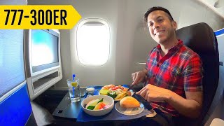 Estrenando AVIÓN DE LUJO ✈️ 777 de United! | Alex Tienda
