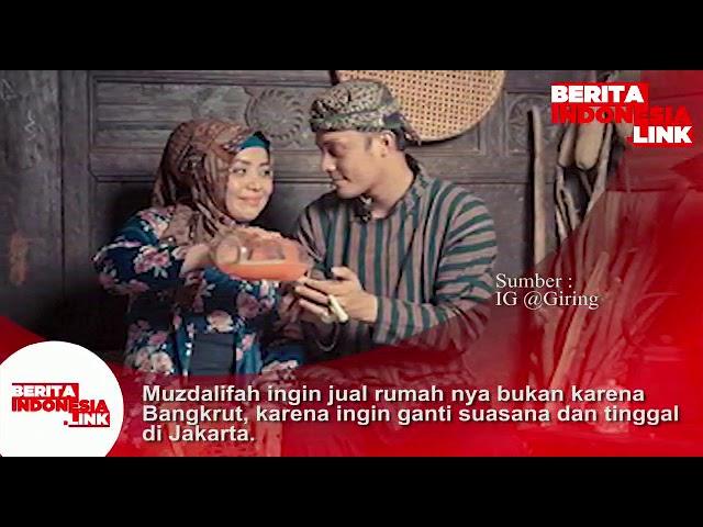 Muzdalifah ingin jual rumahnya bukan karena bangkrut, namun ingin ganti suasana & tinggal di Jakarta