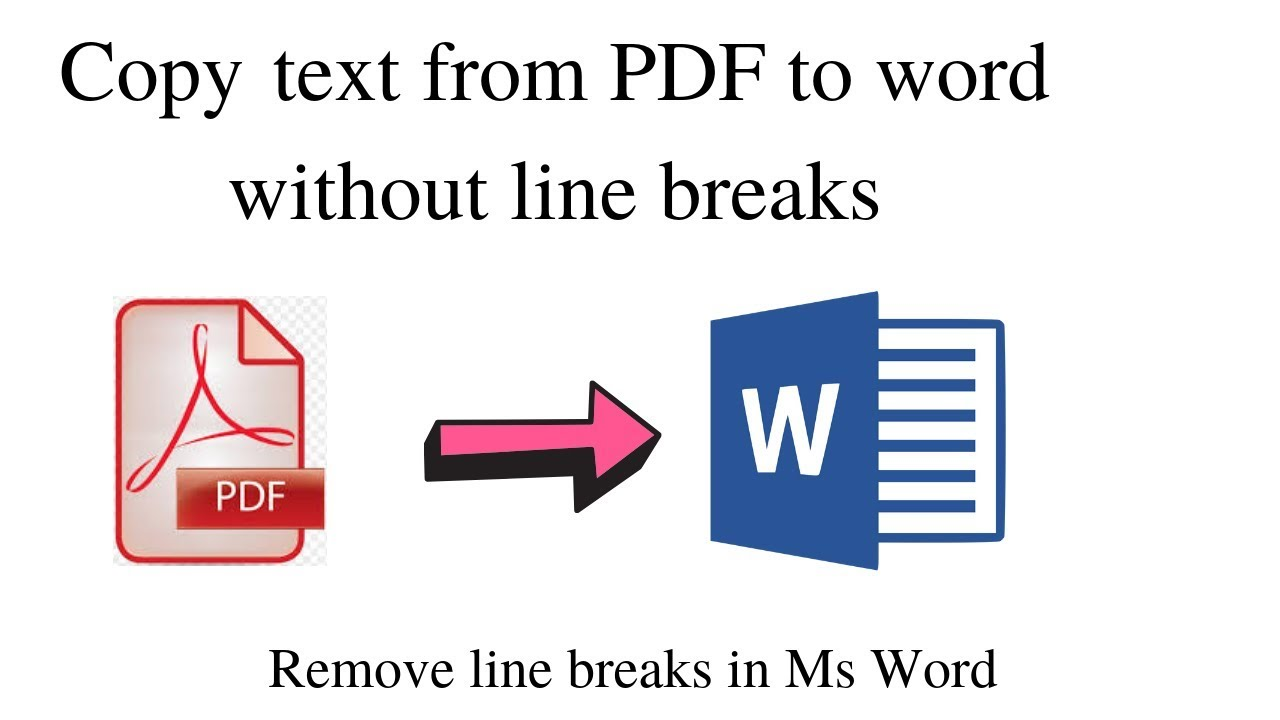 Copy Text from PDF to Microsoft Word without Line Breaks   Word Tricks  How  to Fix Line Breaks