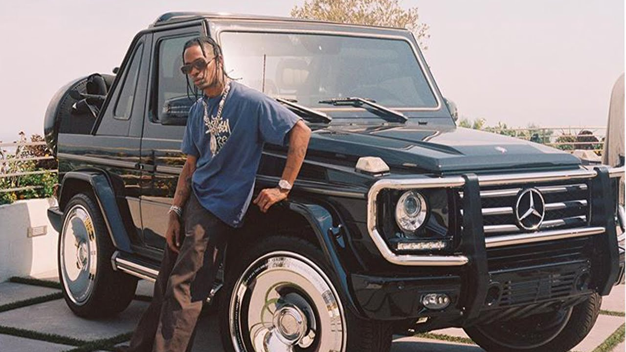Travis Scott's $8,000,000 Car Collection