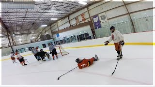 GoPro Hockey | HEAD-BUTT IN ADULT LEAGUE?!
