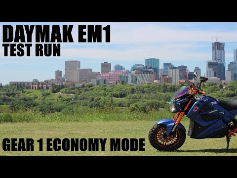 Repeat DAYMAK EM1 ELETRIC BIKE RIDE GEAR 3BOOST ON PASSING CARS by