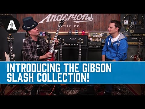 The Gibson Slash Collection – Iconic Guitars Designed by the Man himself! – NAMM 2020