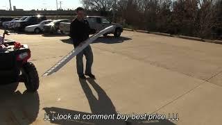 Erickson Arched Loading Ramp Set Review   etrailer com