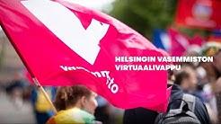 Helsingin Vasemmistoliiton virtuaalivappu 2020