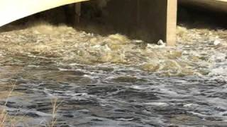 Wascana Flooding Today - Regina, Saskatchewan (Full Version) April 11, 2011