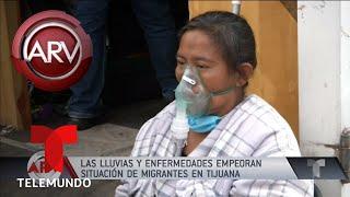 Crisis en Tijuana por caravana de migrantes es insostenible | Al Rojo Vivo | Telemundo