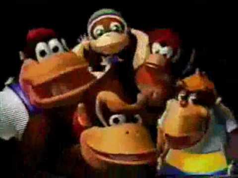 Donkey Kong 64 Japanese Commercial Youtube