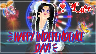 *LIVE* 🎊Happy Independence Day! | Playing Games! | 💙Live Stream💙