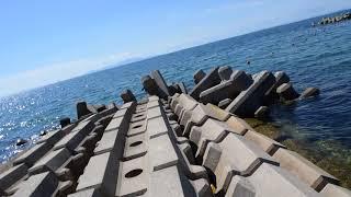 淡路島の海水浴場を撮影してみた