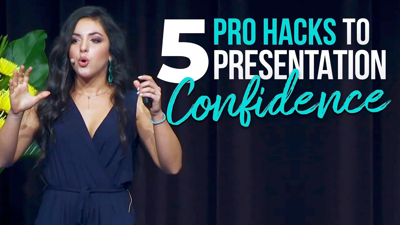 Ep. 38 | 5 Hacks to Elevate your Presentation Confidence