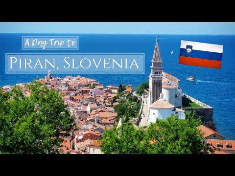 A Day Trip to Piran, Slovenia! | May Day Vacation Travel Vlog