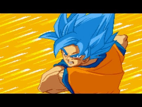 Dragon Ball Z Supersonic Warriors   Super Saiyan Blue Goku (MOD) Gameplay