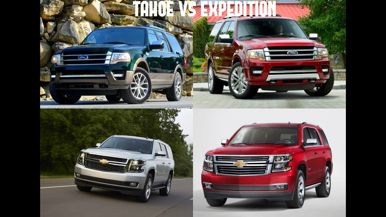 2015 ford expedition vs 2015 chevrolet tahoe youtube. Black Bedroom Furniture Sets. Home Design Ideas