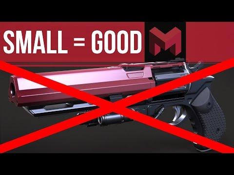 PSA: Small guns are Good