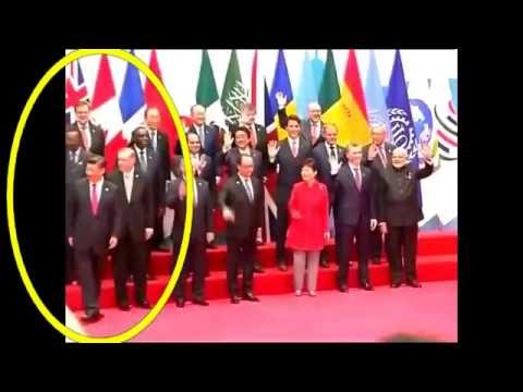 Watch How Barrack Obama Ignores Chinese President Just To Welcome PM Modi at G20