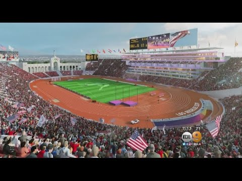 LA 2024 Releases Plans For LA Coliseum Redesign