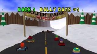South Park Rally PS1 - Championnat terminé en 00:51 min. - Part. 3/3 - Course 1 à la Course 6