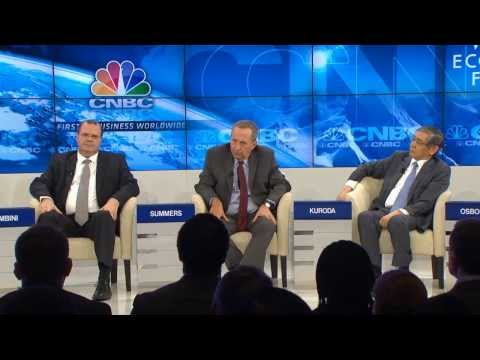 Davos 2014 - The Future of Monetary Policy
