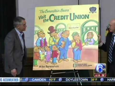 Mike Berenstain unveils new credit union book to students at Grace Park Elementary School
