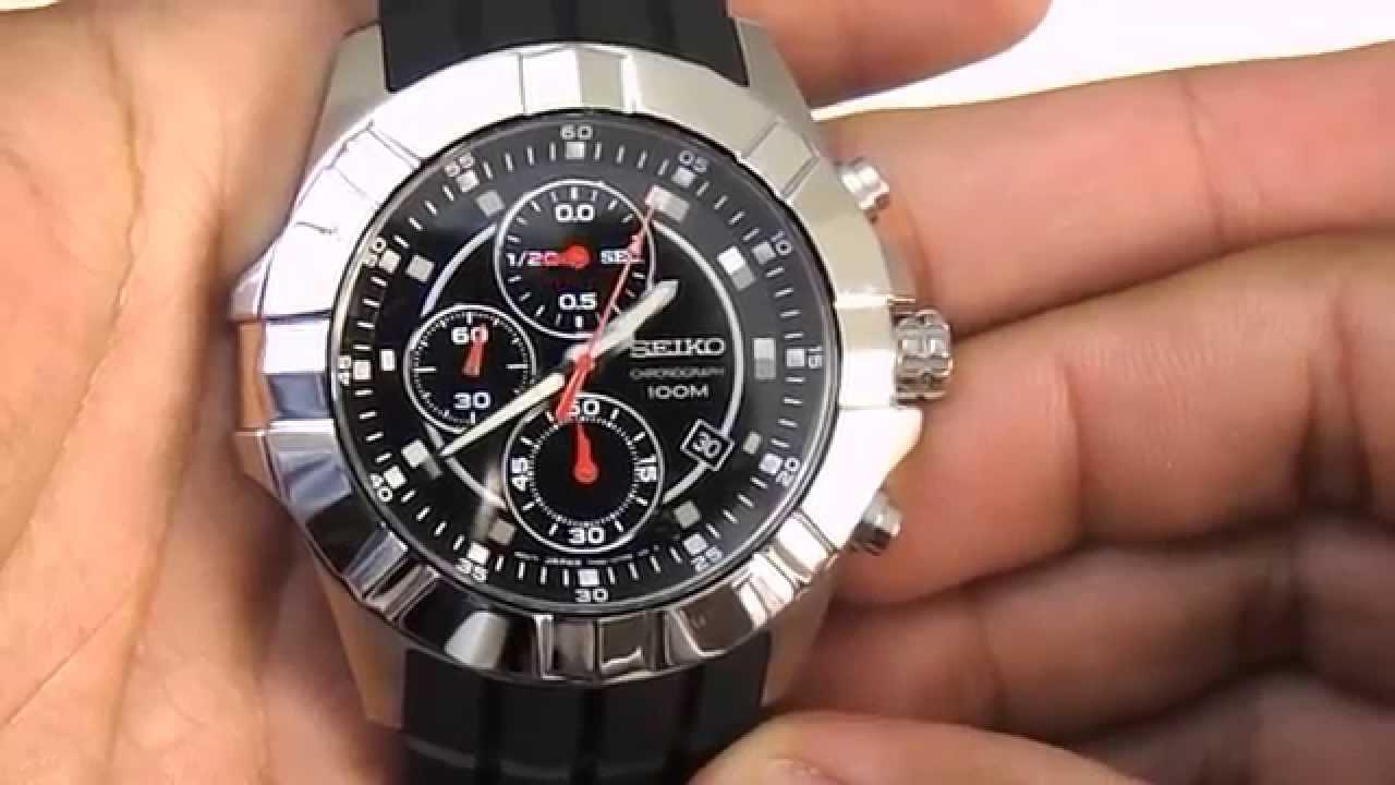 dab821283a3 Relógio Seiko 7t92cc 8 Cronógrafo - YouTube