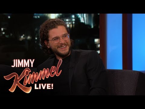Thumbnail: Jimmy Kimmel Grills Kit Harington for Game of Thrones Spoilers