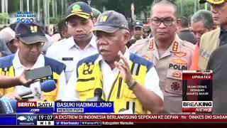 Menteri Basuki: Bagian yang Dinormalisasi Aman dari Luapan Kali Ciliwung