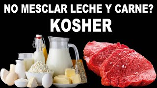 No mezclar Leche y Carne