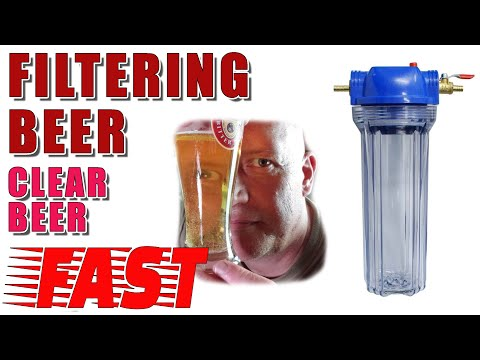 Filtering Beer -  Clear Beer FAST - 10 Inch Filter - 1 Micron