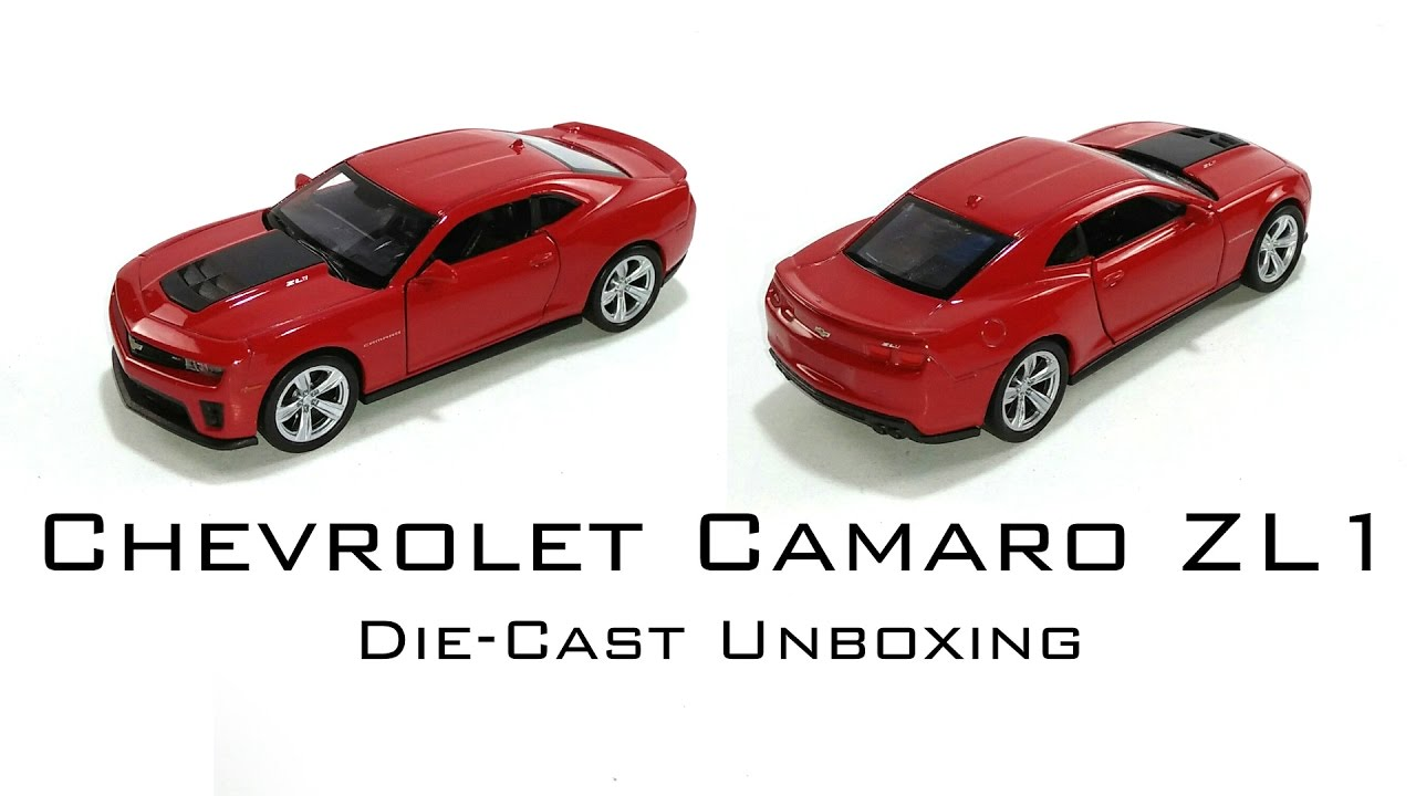 Welly Nex Chevrolet Camaro Zl1 Unboxing Diecast Toy Car Dark Red
