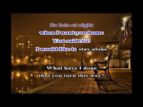 Bad Boys Blue   A Train To NoWhere Karaoke   Lyric   New Wave