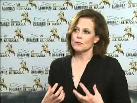 Sigourney Weaver on Steppe Tales at the Eurasia Film Festiva
