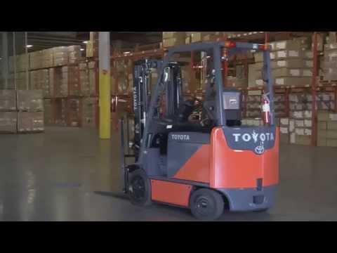 Toyota Forklift SAS Safety System