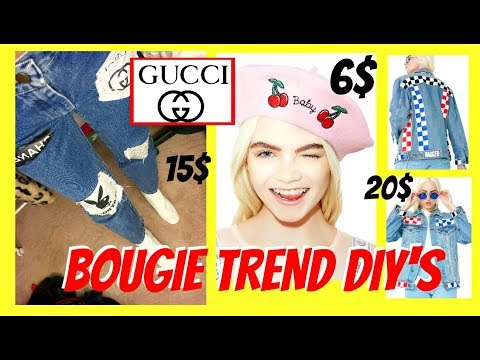 MAKING TRENDY CLOTHES FOR CHEAP! (EASY AF)