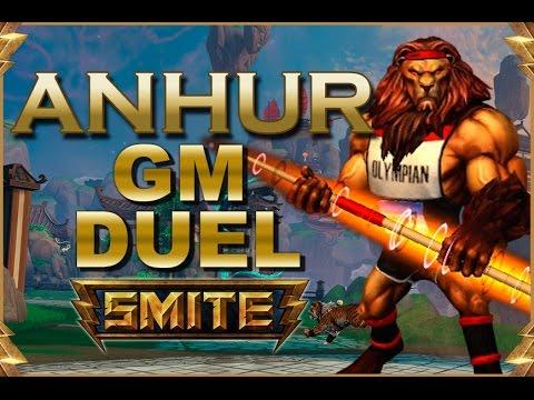 SMITE! Anhur, Buscando al rival mas fuerte! GM Duel #25